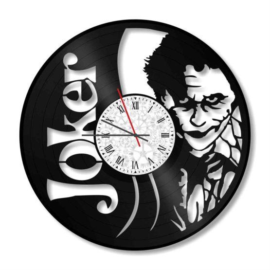 ceas decorativ de perete din vinil Joker