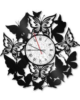 ceas decorativ de perete din vinil